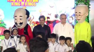 Video Motu Patlu King Of Kings Movie Music Launch - Gulzaar & Vishal Bhadwaj download MP3, 3GP, MP4, WEBM, AVI, FLV Maret 2017