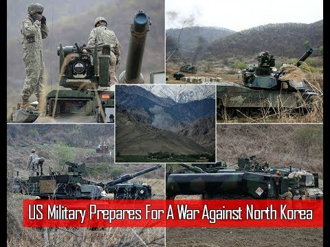 U.S Military Preparing For A War Against North Korea