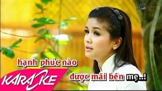 Vu Lan Nhớ Mẹ Karaoke - Trần Thanh Thảo | Nhạc Phật Giáo Karaoke Beat