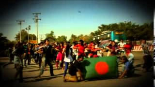 ICC World Twenty20 Bangladesh 2014 - Cricket Fever in Jahangirnagar Univ (its not a Flash Mob )