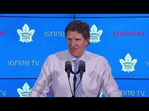 Maple Leafs Post-Game: Mike Babcock - November 24, 2018