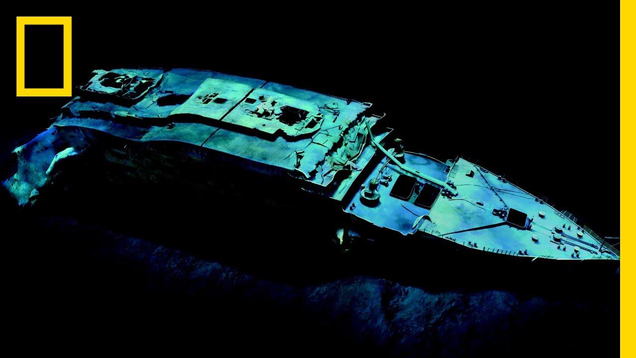 Robert Ballard Restore The Titanic Nat Geo Live National Geographic