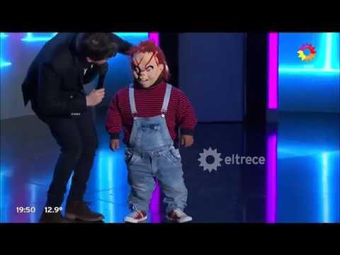 Chucky bailó con Guido al ritmo de