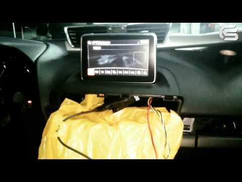 Установка видеоинтерфейса с навигацией в Mazda 3