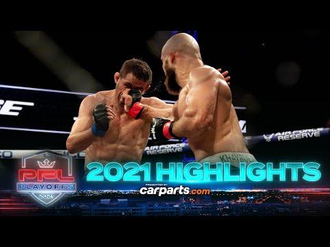 2021 PFL Playoffs: Featherweights & Light Heavyweights Full Fight Highlights