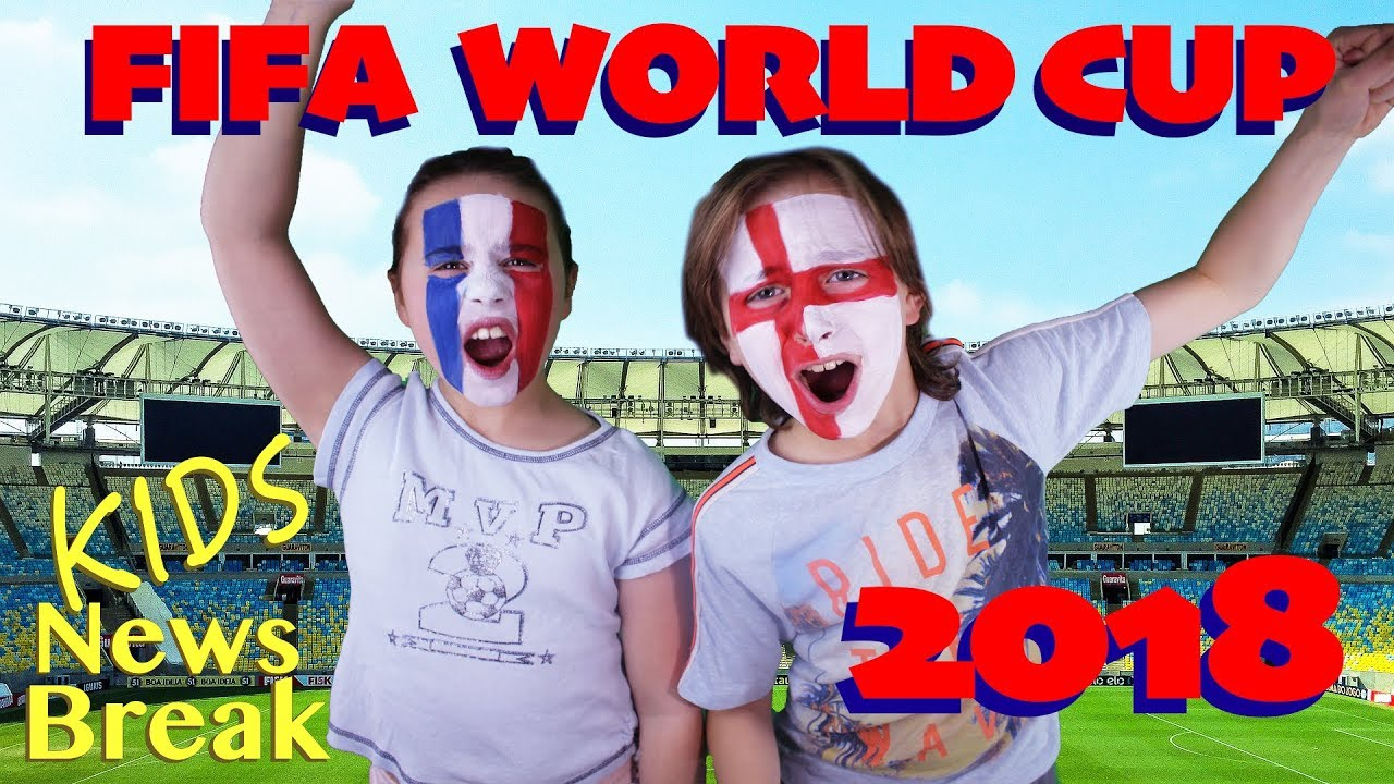 fb40bbedbb8 Fifa World Cup 2018 for kids! Russia 2018. - YouTube