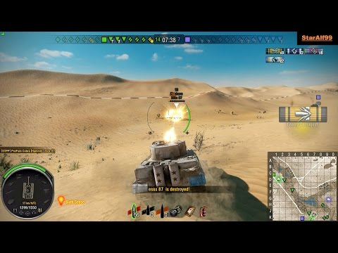 Wot Xbox One/PS4 Tiger I Hammer 2200Dmg !!!