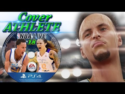 NBA Live 18 Cover Athlete Steph Curry
