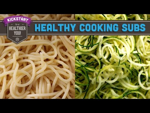 Healthy Cooking Substitutes & Swaps! Mind Over Munch Kickstart 2016