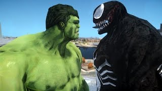 HULK VS VENOM - EPIC BATTLE