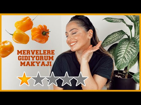 HOLLANDANIN EN ACI BIBERIYLE MERVELERE GIDIYORUM MAKYAJI! CHALLENGE (MADAME JEANETTE)!