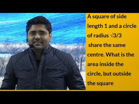QOD-3 An Awesome सवाल Of Square To Circle - Geometry या  Mensuration समझो खुद से- अभिनय Maths