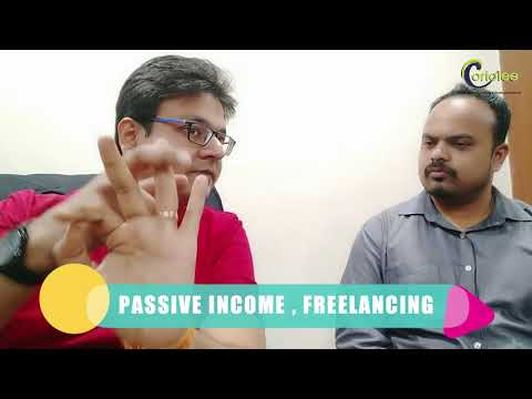 What is the difference between passive income and freelancing?