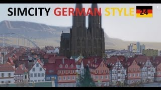 Sim City 5 Live - SimCity 5 2013 Gameplay // Episode #24 :: German Style Layout 1/4 & New DLC