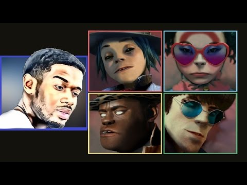 Gorillaz - HUMANZ First REACTION/REVIEW