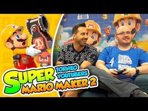 ¡¿Quién ganará la primera ronda?! - Super Mario Maker 2 (Torneo Youtubers) DSimphony