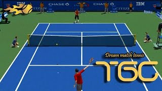 Dream match tennis pro US OPEN 2014 gameplay