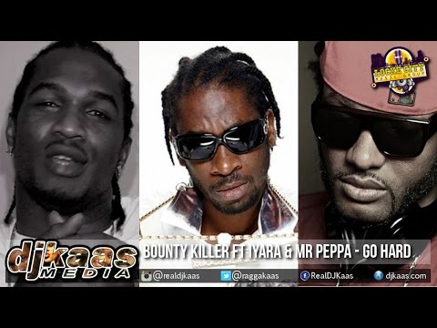 Bounty Killer ft Iyara & Mr Peppa - Go Hard {Raw}[AutoBan Riddim] Dancehall 2015