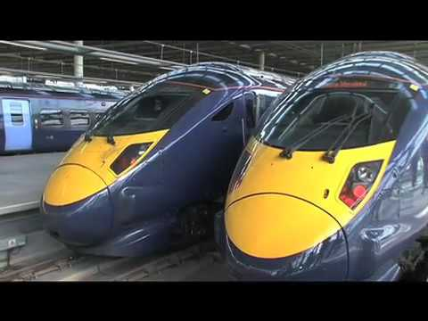 Transport Minister Paul Clark interview on High Speed 1(2009)