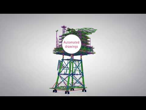 Tekla software for all offshore structures