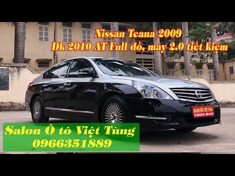 Nissan Teana 2009, dk 2010 AT Full đồ, máy 2.0 tiết kiệm_sang trọng_bền bỉ. LH/zalo: 0966351889