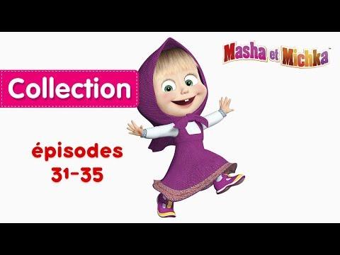 Masha Et Michka - Collection 3 🐻 (31-35 épisodes) Dessins Animés En Français!