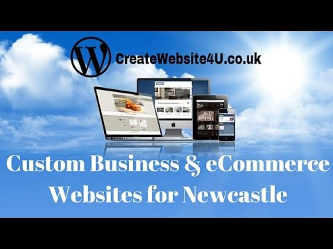Web Design Newcastle - Contact Create Website 4 U on 07852177010 - Business and eCommerce Websites