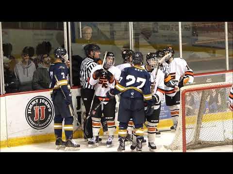 Grand Rapids Hockey vs Hermantown-2018