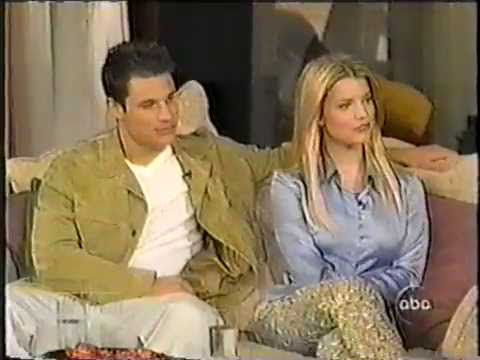 Nick Lachey & Jessica Simpson On The View *Where You Are*