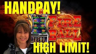 HANDPAY WIN! I'M ON FIRE-SLOT MACHINE-POKIES