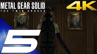 Metal Gear Solid Twin Snakes HD - Walkthrough Part 5 - Psycho Mantis Boss Fight [4K 60fps]