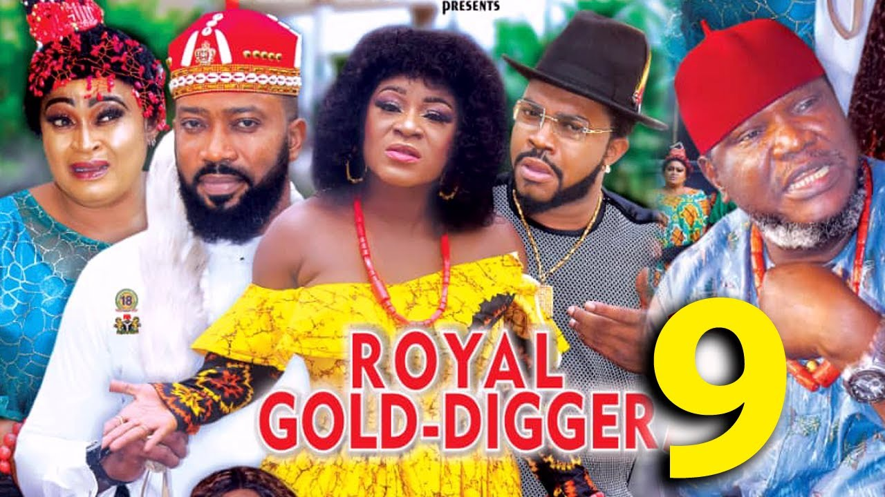 Download ROYAL GOLD DIGGER SEASON 9 - (New Movie) Fredrick Leonard 2021 Latest Nigerian Nollywood Movie 4K HD