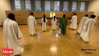 JERUSALEMA CHALLENGE PASTOR AND NUNS⚫JERUSALEM - MASTER KG DANCE CHALLENGE(tiktok Compilation)❤-2020