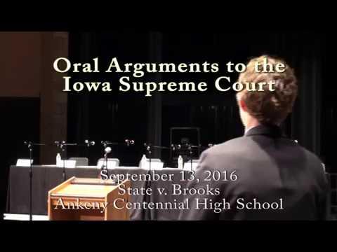 15-0101 State v Brooks, September 13, 2016, at Ankeny Centennial High School