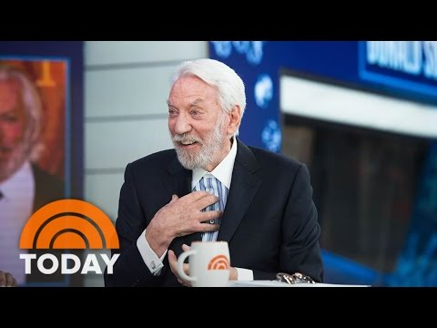 Donald Sutherland On 'Hunger Games,' New Show 'Ice,' Helen M