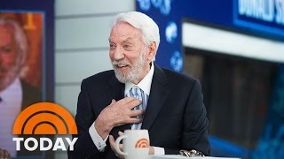 Donald Sutherland On 'Hunger Games,' New Show 'Ice,' Helen Mirren | TODAY