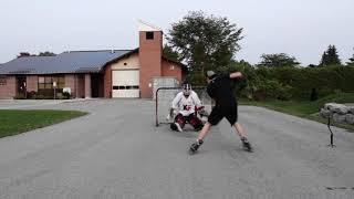 Road Hockey Shootout ( AlwaysHockey vs Dad )