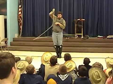Jason Levinson & Company presents Western Trick Rope Artist Jim Washington DC / Baltimore metro area