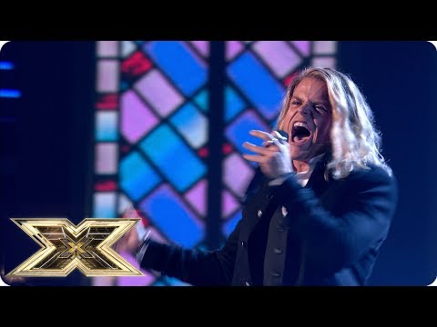 Giovanni Spano Sings ...Baby One More Time | Live Shows Week 2 | The X Factor UK 2018