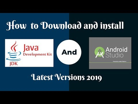 How To Download And Install Latest Java Development Kit (JDK) And Android Studio - Windows 10 - 2019
