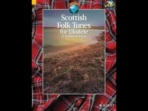 Review of 'Scottish Folk Tunes' for Ukulele book by Sam Muir