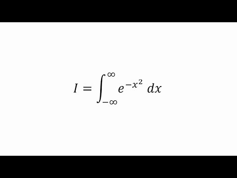 The Gaussian Integral