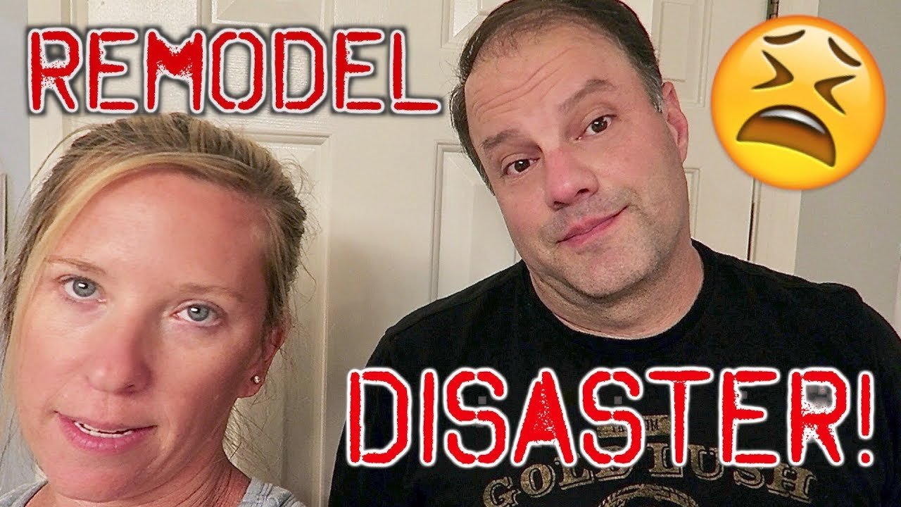 BATHROOM RENOVATION DISASTER!! - YouTube