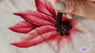 Pintura em tecido – Eliane Nascimento: como pintar bico de papagaio