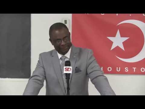 Student Minister Dr Abdul Haleem Muhammad
