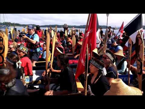 Haida Canoes in Song