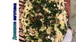 Салат ''марго'' из куриного филе с маринованными грибами эпизод №153