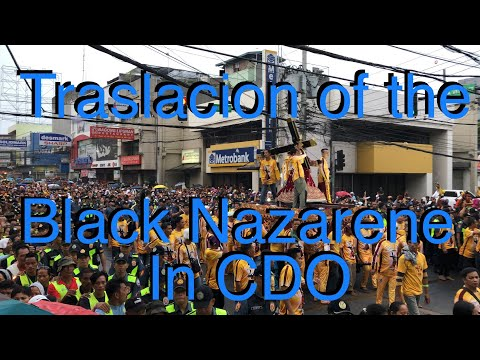 Peaceful Traslacion of the Black Nazarene in Cagayan de Oro City