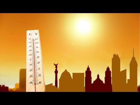 Conferencia de medios Onda de calor y sus efectos para la contaminación