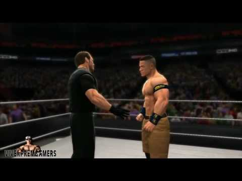 wwe 2k14 the shield entrance